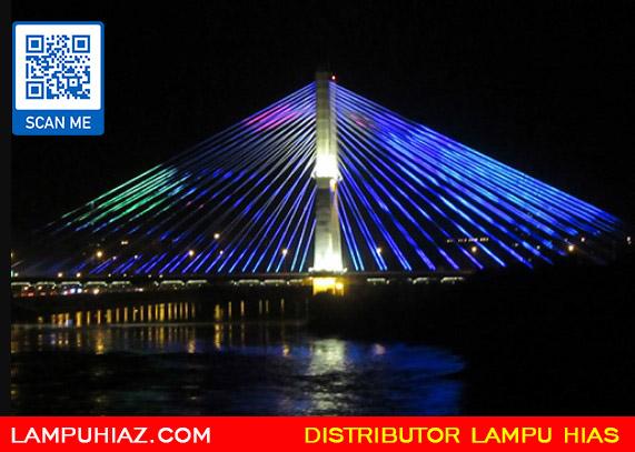 Dekorasi Lampu Hias Jembatan yang Cantik dan Ciamik