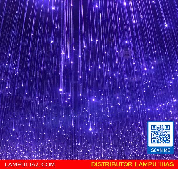 Hiasan Lampu Fiber Optik untuk Taman Cantik dan Estetik