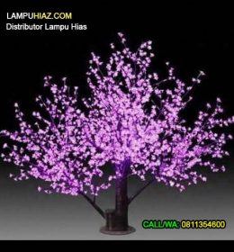 Distributor resmi lampu hias pohon di surabaya GCYHA2308