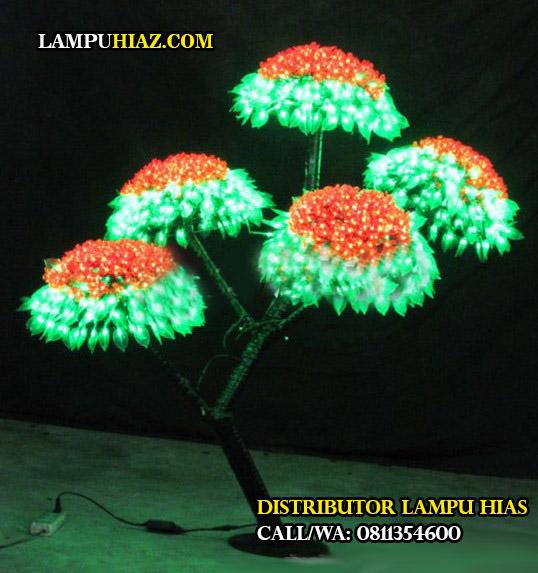Tampilan lampu hias berkualitas tinggi